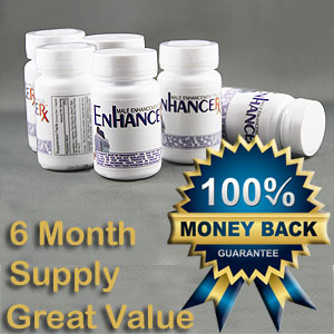 EnhanceRx™ Male Enhancement Pills 6 Months