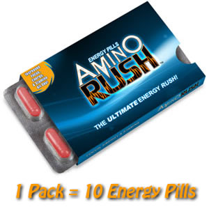 Amino Rush™ Energy Pills 1 Pack