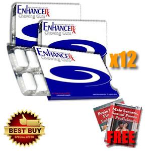 EnhanceRx™ Penis Enlargement Gum 12 Months