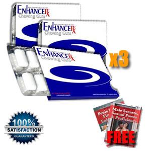 EnhanceRx™ Male Enlargement Gum 3 Months