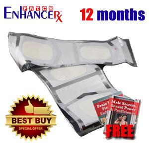 EnhanceRx™ Penis Enlargement Patches 12 Months