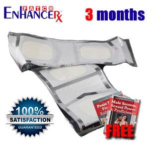 EnhanceRx™ Male Enhancement Patches 3 Months
