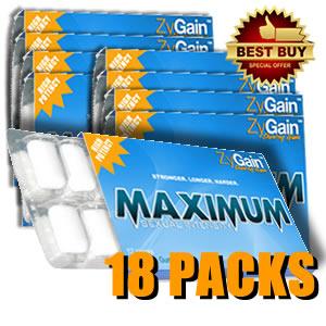 ZyGain® Penis Enhancement Gum 6 Months
