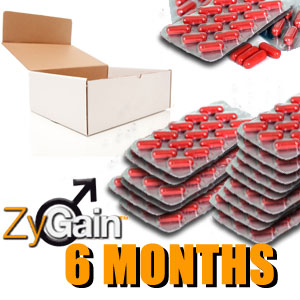 ZyGain® Male Enlargement Pills 6 Months